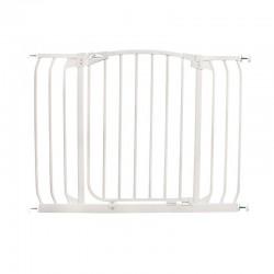 Dreambaby Chelsea Extra Wide Auto Close Gate - 97 -108 cm -  White