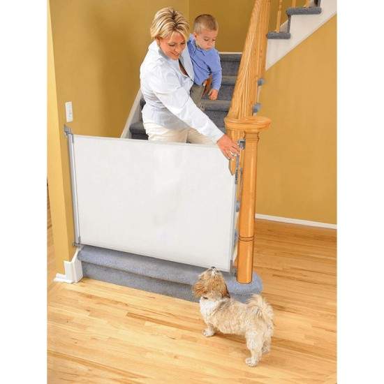 Dreambaby Retractable Gate - Fits opening up to 140 cm