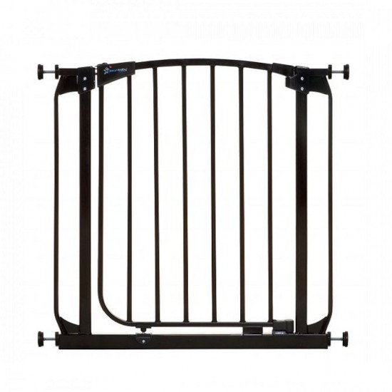 Dreambaby CHELSEA Auto-Close Security Gate, 71 - 82 cm -  Black