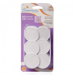 Dreambaby Socket Covers - 12 pcs
