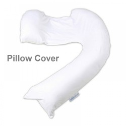 dreamgenii pregancy support & feeding pillow Cover - White