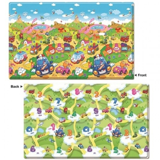 Dwinguler Playmat ( Medium Size) - Car Festival