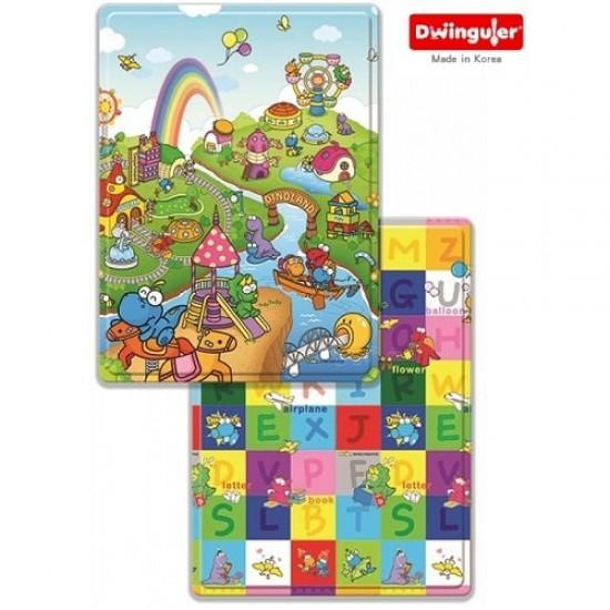Dwinguler Playmat (Small Size) - Dino Land
