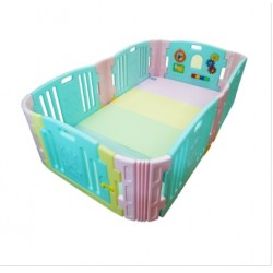 Edu.play Happy Baby Room - Candy (129 x 215cm) with playmat
