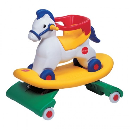 Edu.play 3 in 1 Rocking Horse - Spring Pony