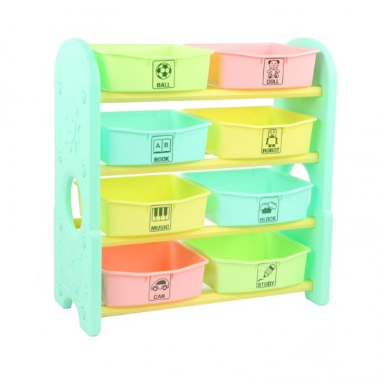 Edu.play 4-layer high storage Shelf