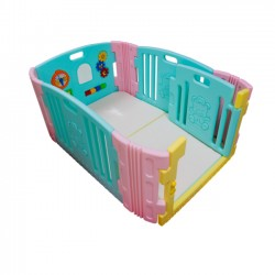 Edu.play Baby Room - Candy  + Living Code Playmate (90 x 136cm)