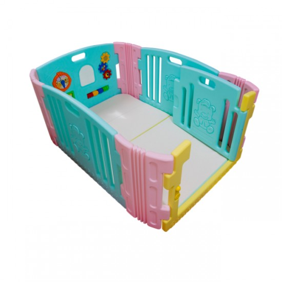 Edu.play Baby Room - Candy  + Living Code Playmate (90 x 136cm)