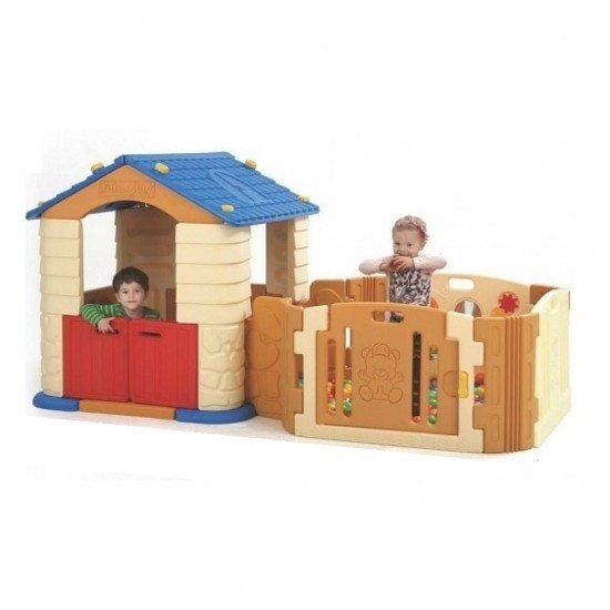 Edu.play Happy House with Happy Baby Room
