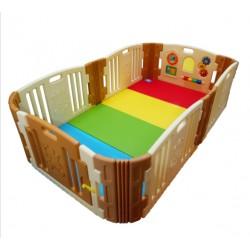 Edu.play Happy Baby Rooms  (129 x 215 cm) [Brown] + Living Codi Playmate