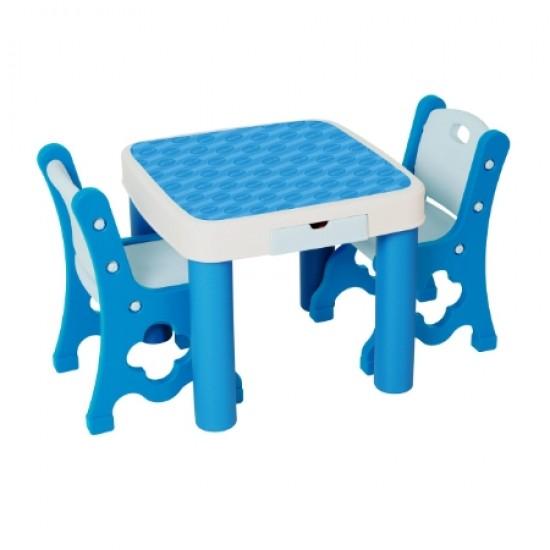 Edu.play GUGUDAN Table & Chair - Blue