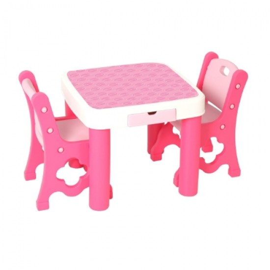 Edu.play GUGUDAN Table & Chair - Pink