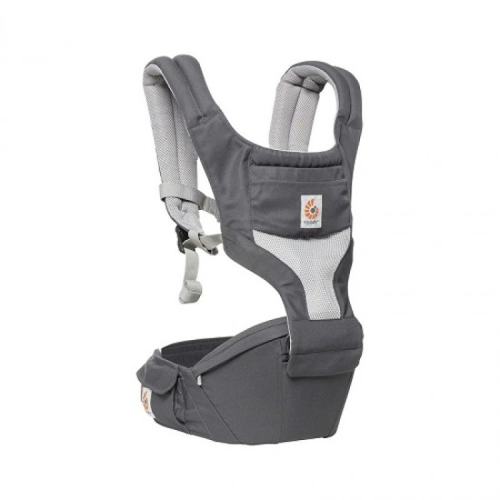 Ergobaby Hipseat 6 positions baby carrier - Cool Air Mesh - Carbon Grey