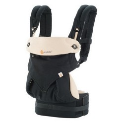 Ergobaby Four Position 360 Carrier - Black & Camel