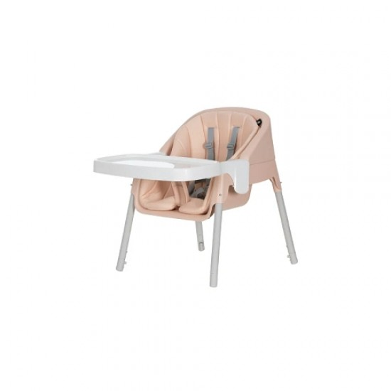 Evenflo Trilo 3-in-1 Eat & Grow Convertible High Chair - Misty Pink