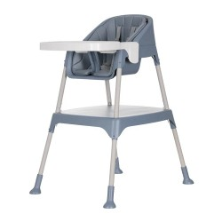 Evenflo Trilo 3-in-1 Eat & Grow Convertible High Chair - Night Blue