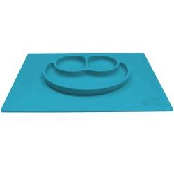 ezpz HAPPY MAT Plate & Placemat - Blue