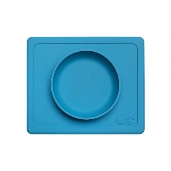 ezpz Mini Bowl & Placemat - Blue