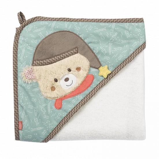 Fehn Hooded bath towel bear