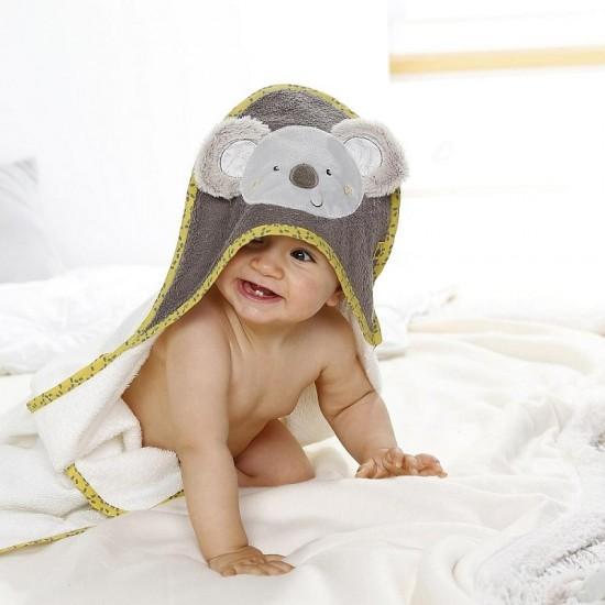 Fehn Hooded bath towel koala