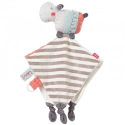 Fehn Loopy & Lotta Hippo cuddly blanket
