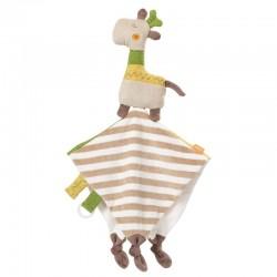 Fehn Loopy & Lotta Giraffe cuddly blanket
