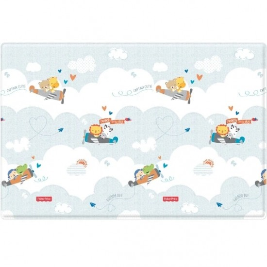Fisher Price Baby Play Mat - Flying + Smile Road (190 x 130 cm)