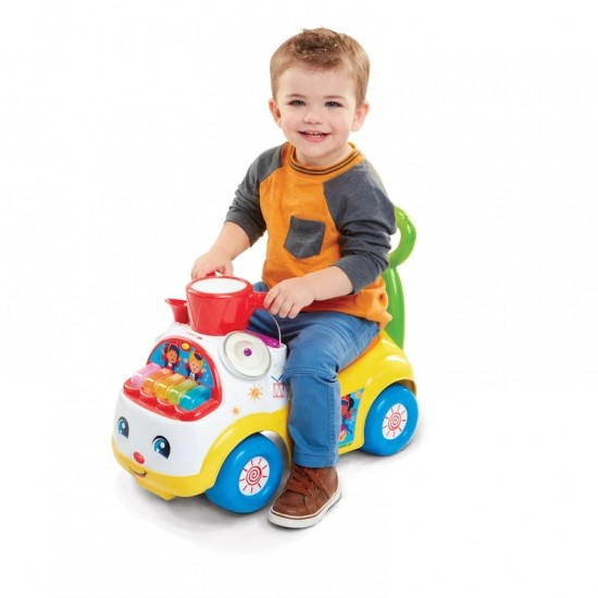 Fisher Price Little People Music Parade Ride On - White