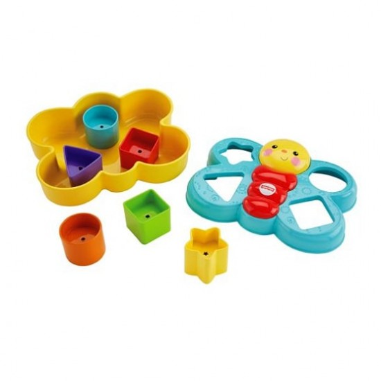 Fisher Price Butterfly Shape Sorter (CDC22)