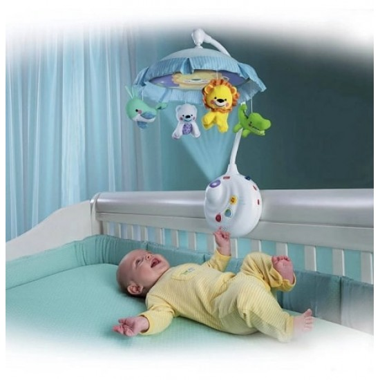 Fisher Price Precious Planet 2-in-1 Projection Mobile