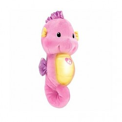 Fisher Price Soothe & Glow Seahorse - Pink
