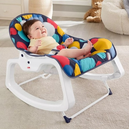 Fisher Price Infant-to-Toddler Rocker - bubble up (GJP63)