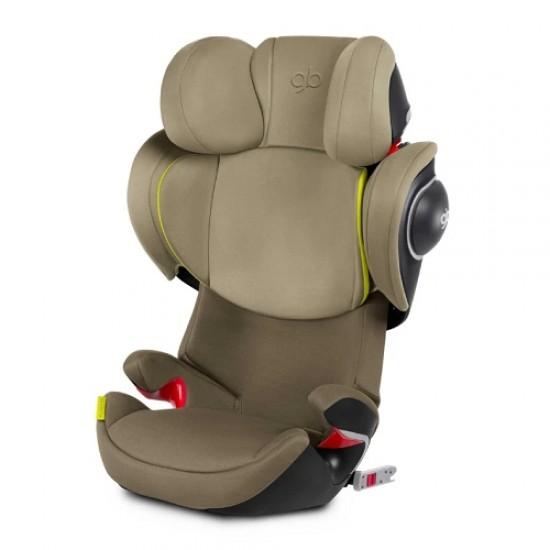 gb Platinum Elian-Fix Car Seat -  Lizard Khaki