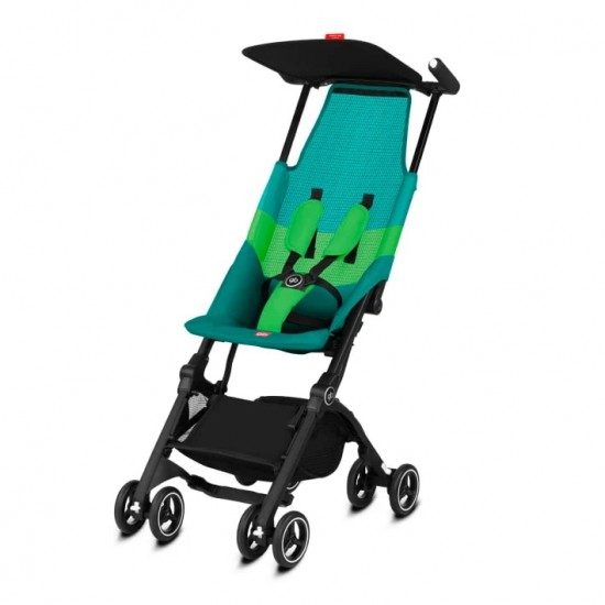gb Gold Pockit Air All-Terrian Stroller with Carrying Bag and Strap - Laguna Blue