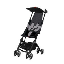 gb Gold Pockit Air All-Terrian Stroller with Carrying Bag and Strap - Velvet Black