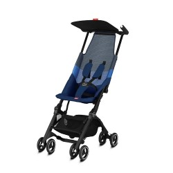 gb Gold Pockit Air All-Terrian Stroller with Carrying Bag and Strap - Night Blue