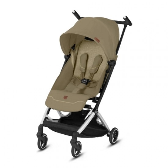 gb Gold Pockit+ All City Stroller with Carrying Bag and Strap - Vanilla Beige