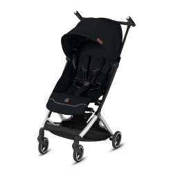 gb Gold Pockit+ All City Stroller with Carrying Bag and Strap - Velvet Black