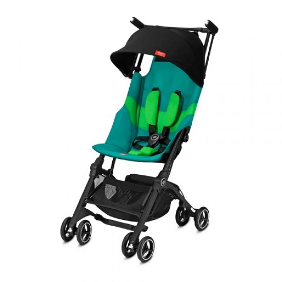 gb Gold Pockit+ Stroller with Carrying Bag and Strap - Laguna Blue