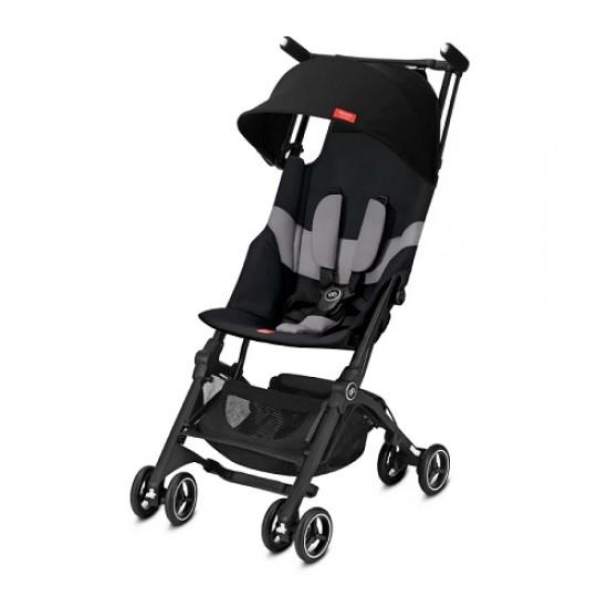 gb Gold Pockit+ Stroller with Carrying Bag and Strap - Velvet Black