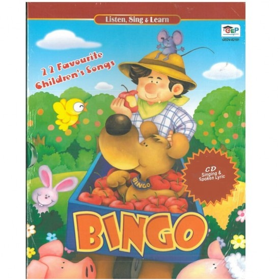 Listen, Sing & Learn - BINGO - 2 CD