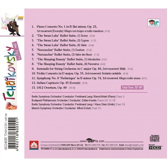 Tchaikovsky with me CD