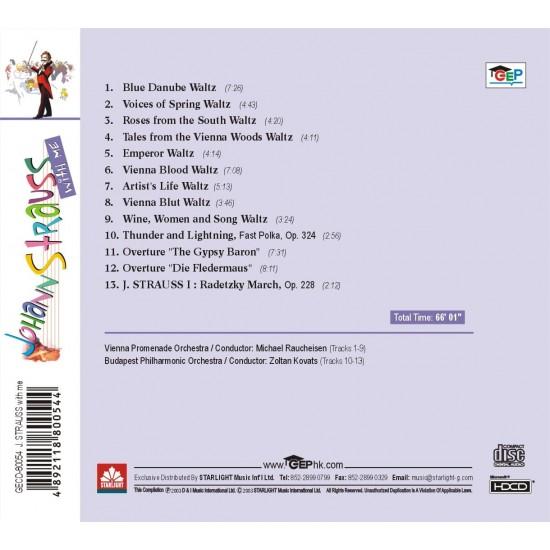 Johann Strauss with me CD