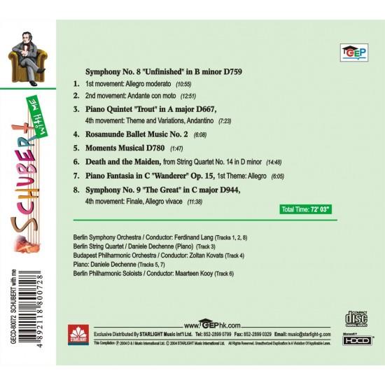 Schubert with me CD