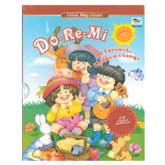Listen, Sing & Learn - Do-Re-Mi - 2 CD