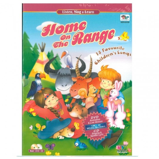 Listen, Sing & Learn - Home on the Range - DVD + CD