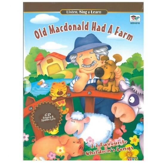 Listen, Sing & Learn - Old Macdonald Had A Farm - 2 CD