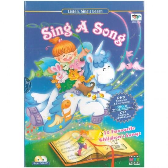 Listen, Sing & Learn - Sing a Song - DVD + CD