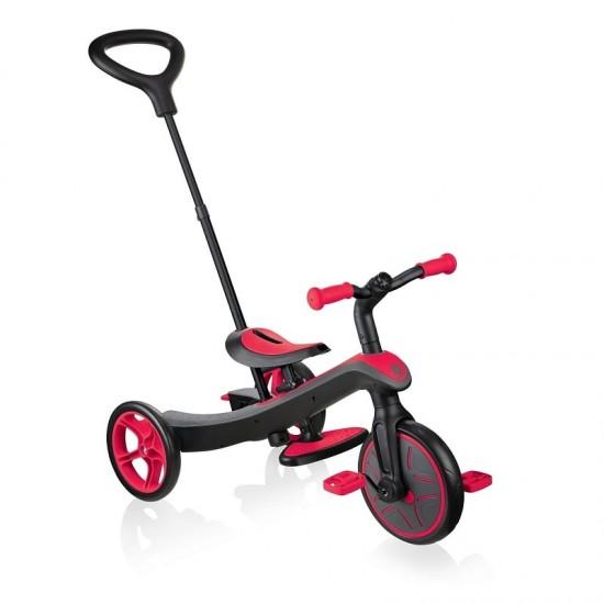 Globber Explorer Trike 4in1 - Fuchsia Pink