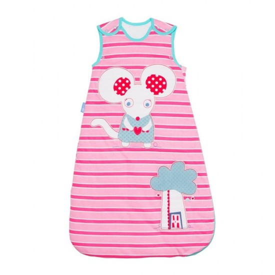 Grobag Little Mo Mouse, 1.0 Tog - 0-6m